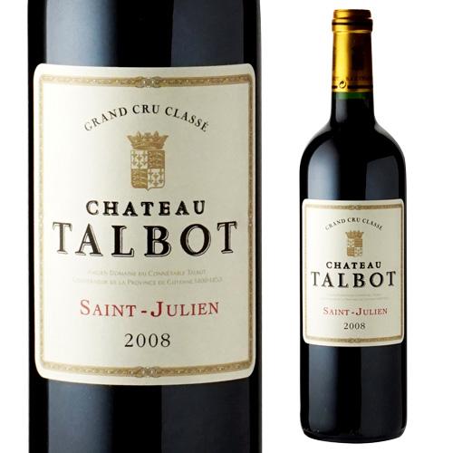 シャトー タルボ 2008 赤ワイン