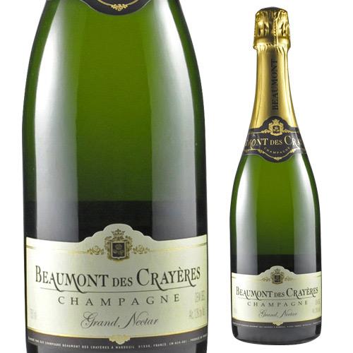 【誰でもP5倍 12/25限定】ボーモン デ クレイエール グラン ネクター シャンパーニュ シャンパン