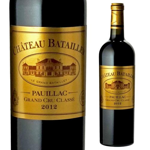 シャトー バタイエ 2012 赤ワイン