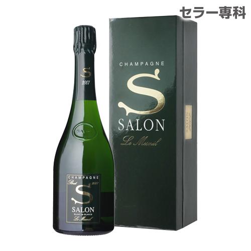 サロン ブラン ド ブラン [2007] 750ml[限定品][シャンパン][シャンパーニュ]【お一人様1本まで】