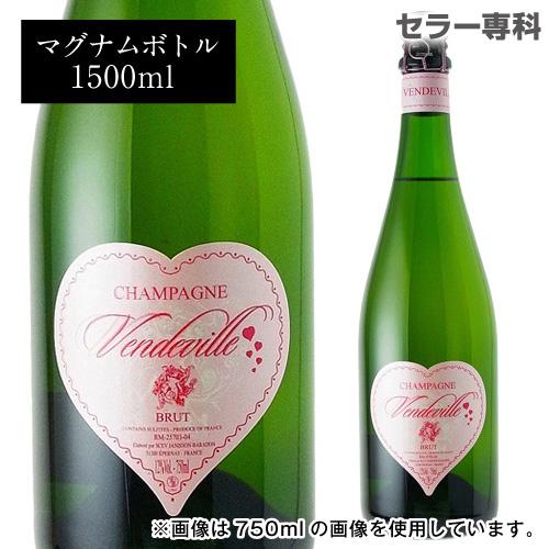 ジャニソン バラドン ヴァンドヴィルマグナム 1.5L(1500ml) 限定品 シャンパン シャンパーニュ 正規品【バレンタイン】
