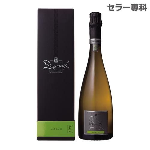 【誰でもワインP5倍 8/25限定】ドゥヴォ― ウルトラ D BOX 750ml 正規品 BOX付 箱付 シャンパン シャンパーニュ