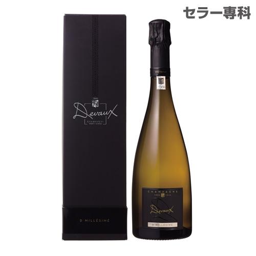 ドゥヴォ― D ミレジメ 2008 BOX 750ml 正規品 BOX付 箱付 シャンパン シャンパーニュ