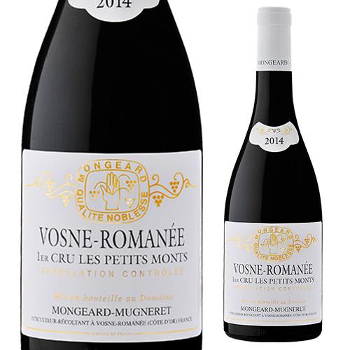 ヴォーヌ ロマネ プルミエクリュ レ プティ モン 2014 モンジャール ミュニュレ 赤ワイン