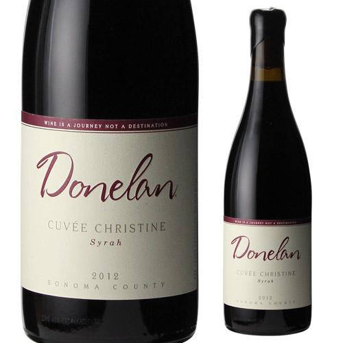 ドネラン キュヴェ クリスティーヌ シラー 2012 赤ワイン