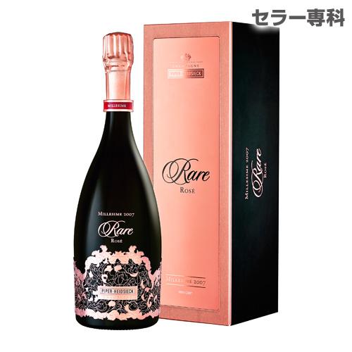 パイパー エドシック レア ヴィンテージ ロゼ 2007 750ml 正規品 限定品 シャンパン シャンパーニュ