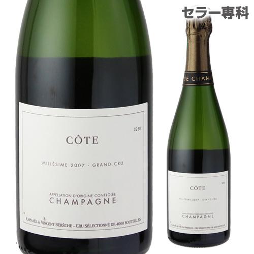 ベレッシュ セレクション コート 2007 750ml シャンパン シャンパーニュ