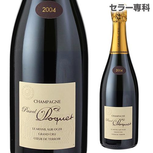 パスカル ドケエクストラブリュット グランクリュ 2004 750ml シャンパン シャンパーニュ