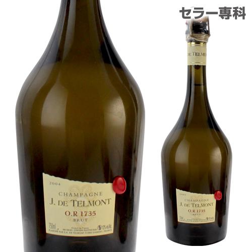 ジ ド テルモン O.R 1735 ブリュット グランクリュ 2004 オリジナルナイフ付 限定品 シャンパン シャンパーニュ ギフト 記念 祝い プレゼント