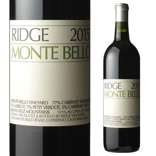 リッジ [2015] モンテベッロ[アメリカ][カリフォルニア][赤ワイン][リッジ ヴィンヤーズ]【お一人様1本限り】