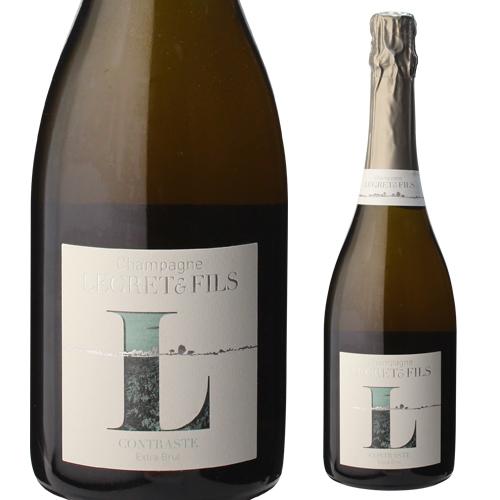 ルグレ エ フィス コントラスト エクストラブリュット 750ml[シャンパン][シャンパーニュ][自然派ワイン][ヴァン ナチュール][ビオ ディナミ]