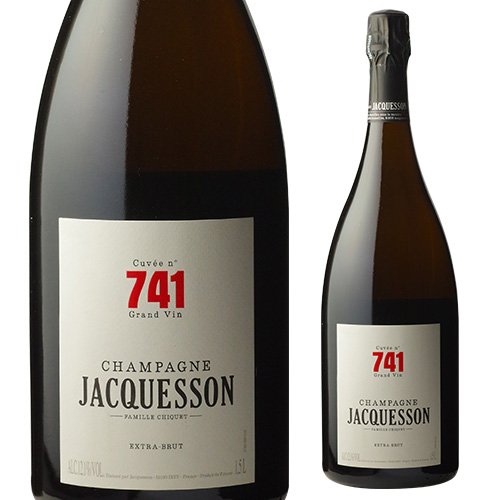 ジャクソン キュヴェ 741 エクストラ ブリュット マグナム 1.5L (1500ml) [シャンパン][シャンパーニュ][限定品][お一人様1本限り]