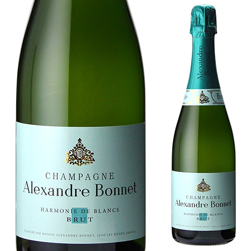 【誰でもP5倍 12/25限定】アレクサンドル ボネ ハーモニー ド ブラン 750ml シャンパーニュ シャンパン