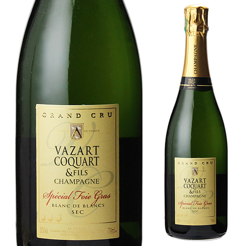 ヴァザール コカール スペシャル フォアグラ ブラン ド ブラン セック 750ml シャンパーニュ シャンパン