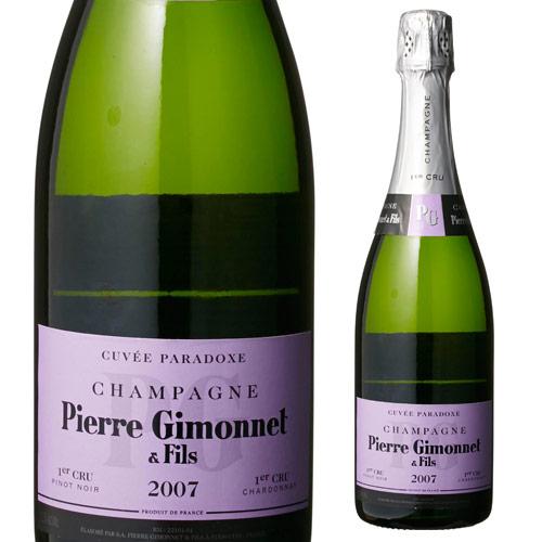 【誰でもP5倍 12/25限定】ピエール ジモネ パラドクス 2007 シャンパン シャンパーニュ