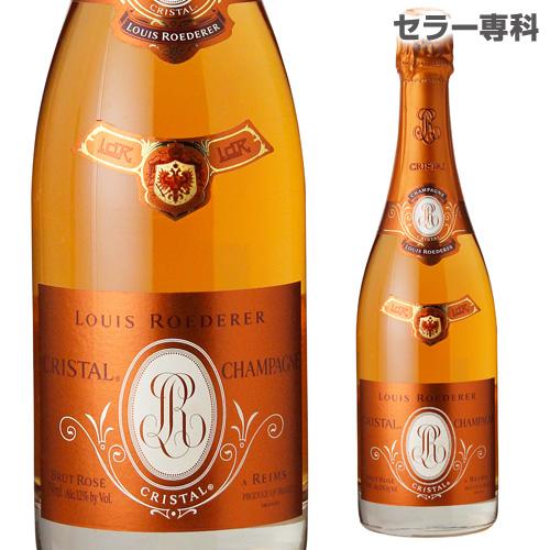 ルイ ロデレール クリスタル ロゼ シャンパン シャンパーニュ