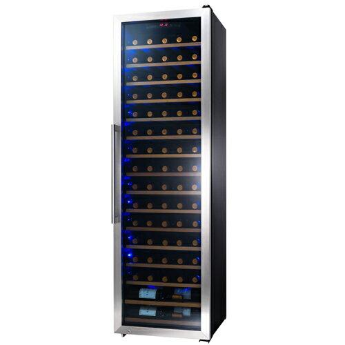 STYLECREA スタイルクレアSC-76(ガラス扉)76本ワインセラー コンプレッサー式 家庭用 業務用 大型機種
