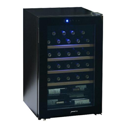 デバイスタイル CD-30W本体カラー:ブラック 33本ワインセラー 家庭用ワインセラー送料無料 deviceSTYLE コンプレッサー式 家庭用 業務用 コンパクト N/B