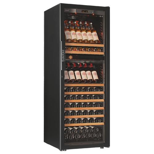 正規品 ユーロカーブ 6170D2P  EuroCave Professionnels 6000シリーズ  収納150本 ワインセラー コンプレッサー式  家庭用 業務用 大型機種 2温度管理タイプ N/B