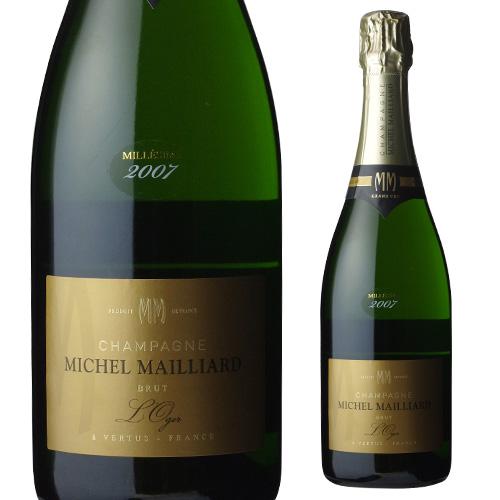 ミッシェル マイヤール キュヴェ ル オジェ グランクリュ [2007] 750ml[シャンパン][シャンパーニュ][特級][ミレジム][ヴィンテージ][ヴィンテージシャンパン][ヴィンテージシャンパーニュ]