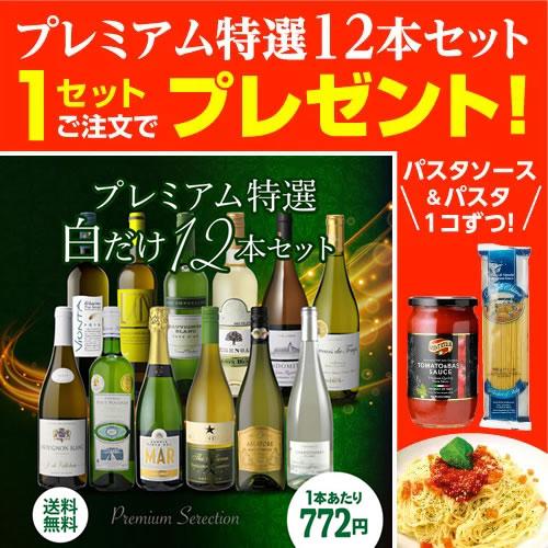 【マラソン中 最大777円クーポン】送料無料 白だけプレミアム特選12本セット31弾 白ワインセット ワインセット 長S