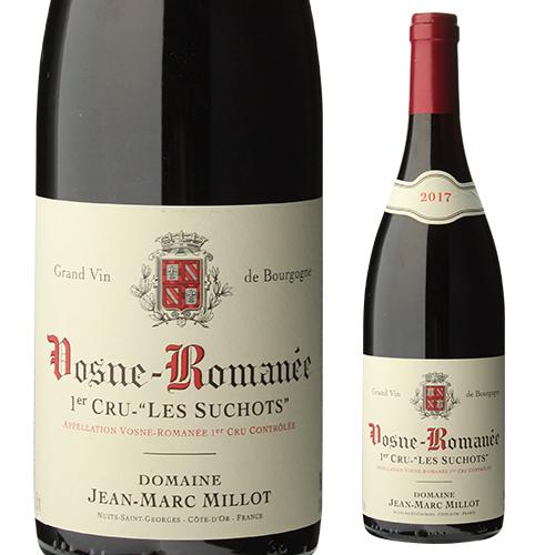 【10%OFF】ヴォーヌ ロマネ プルミエクリュ レ スショ 2017 ジャン マルク ミヨ 正規品 ブルゴーニュ 赤ワイン 1級