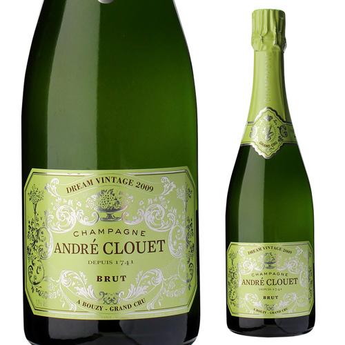 【誰でもP5倍 12/25限定】アンドレ クルエドリーム ヴィンテージ 2009 750ml並行品 限定品 シャンパン シャンパーニュ【お一人様1本まで】