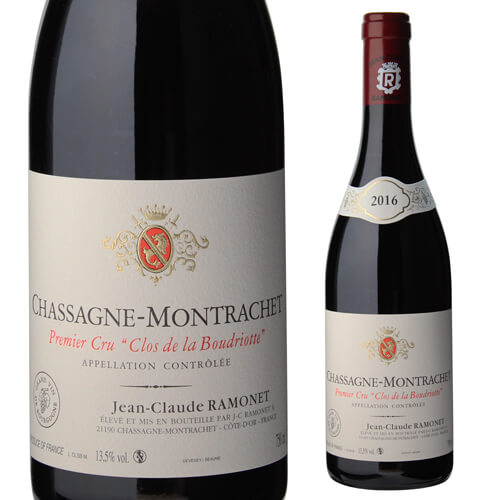 シャサーニュ モンラッシェ プルミエ クリュ クロ ド ラ ブードリオット2016 ルージュ ドメーヌ ラモネ 750ml ブルゴーニュ 1級 赤ワイン