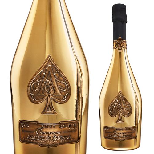 【正規品シャンパン】送料無料 アルマンド ブリニャック ブリュット ゴールドNV 750ml 正規品 シャンパン シャンパーニュ 虎