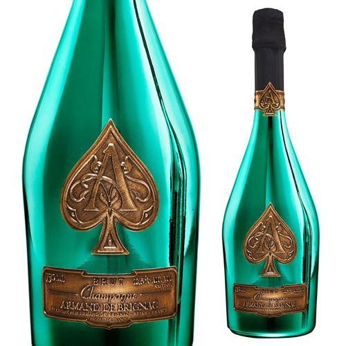【正規品シャンパン】送料無料 アルマンド ブリニャックグリーンNV 750ml 正規品 シャンパン シャンパーニュ 虎