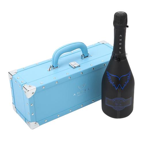 【正規品エンジェルシャンパン】送料無料エンジェル シャンパンヘイロー ブルー (青) NV 750ml BLUE BOX 専用箱入りシャンパン シャンパーニュ 光るボトル ルミナス