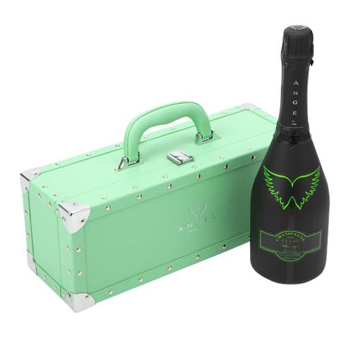 【正規品エンジェルシャンパン】送料無料エンジェル シャンパンヘイローグリーン (緑) NV 750ml GREEN BOX 専用箱入りシャンパン シャンパーニュ 光るボトル ルミナス