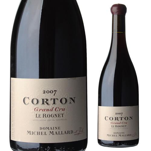 ミッシェル・マラール コルトン グラン クリュ ル ロニェ 2007 750ml フランス ブルゴーニュ バックヴィンテージ 赤ワイン