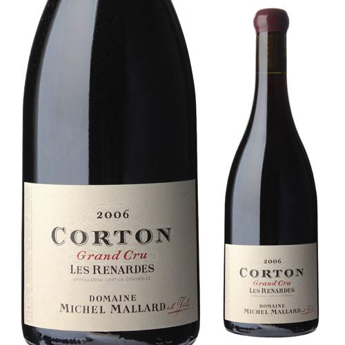 ミッシェル・マラール コルトン グラン クリュ ル ロニェ 2006 750ml フランス ブルゴーニュ バックヴィンテージ 赤ワイン