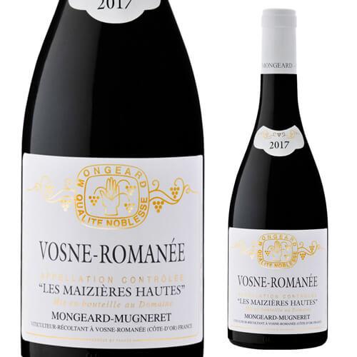ヴォーヌ ロマネ レ マジエール オー2017 モンジャール ミュニュレ 750ml 赤ワイン フランス ブルゴーニュ