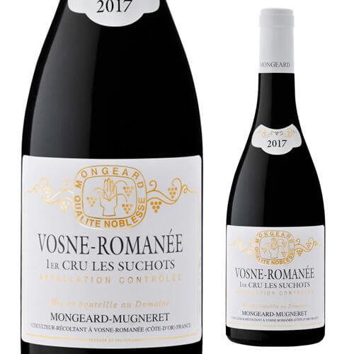 ヴォーヌ ロマネ プルミエクリュ レ スショ2017 モンジャール ミュニュレ 750ml 赤ワイン フランス ブルゴーニュ 1級