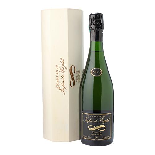 インフィニット エイトヴィンテージ セレクション 1998 BOX 750ml正規品 限定品 シャンパン シャンパーニュ木箱入 【お一人様1本まで】