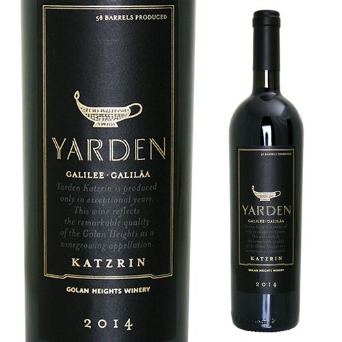 ヤルデン カツリン レッド 2014 ゴラン ハイツ ワイナリー 750ml 赤ワイン イスラエル 自然派ワイン ビオ BIO ヴァン ナチュール オーガニックワイン 虎