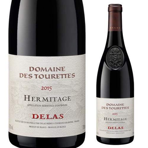 【誰でもワインP5倍 8/25限定】エルミタージュ ルージュ ドメーヌ デ トゥーレット 2015 ドメーヌ デュラス フレール 750ml フランス コート デュ ローヌ 赤ワイン
