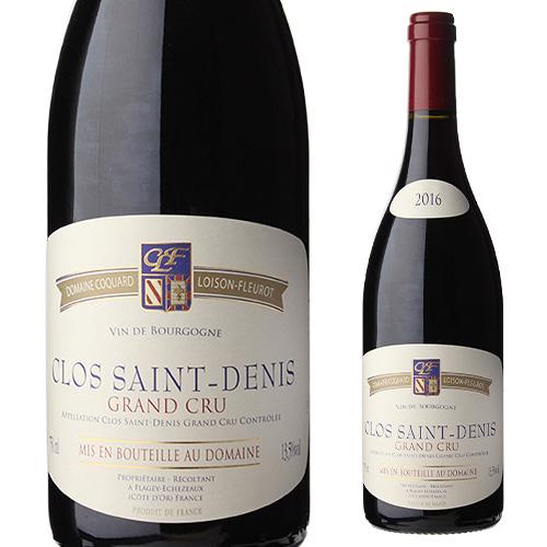 クロ サン ドニ 2016 コカール ロワゾン フルーロ 750ml フランス ブルゴーニュ 赤ワイン