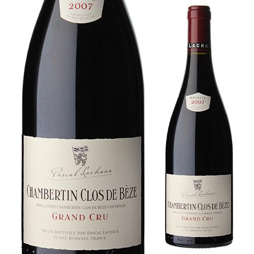 シャンベルタン クロ ド べーズ 2007 パスカル ラショー 750ml 赤ワイン
