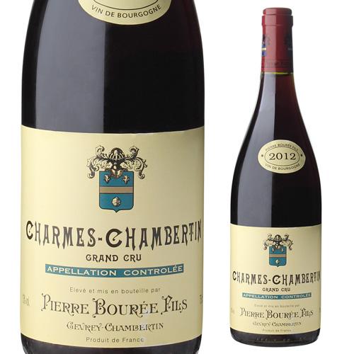【誰でもワインP5倍 8/25限定】シャルム シャンベルタン 2012 ピエール ブレ 750ml フランス ブルゴーニュ 赤ワイン 特級 虎