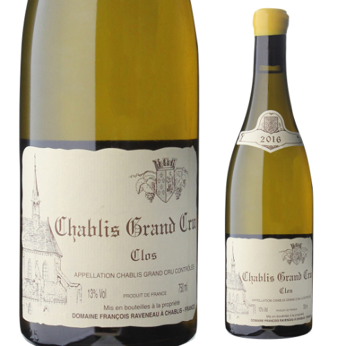 シャブリグラン クリュ レ クロ 2016 ドメーヌ ラヴノー 750ml フランス ブルゴーニュ 特級 白ワイン 虎
