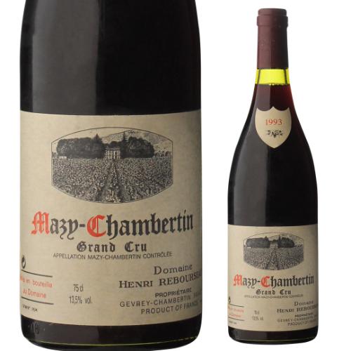 【誰でもワインP5倍 8/25限定】マジ シャンベルタン 1993ドメーヌ ルブルソー 750mlフランス ブルゴーニュ 特級 赤ワイン 虎