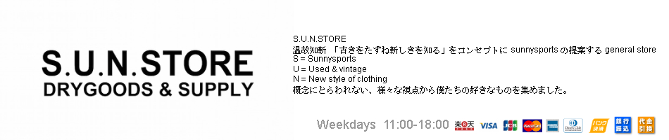 S.U.N.STORE:SUNNY SPORTS公式通販
