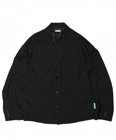 【別注】WILLY CHAVARRIA /ウィリーチャバリア CAGUAMA TAILOR JACKET Mens SUIT BLACK M L