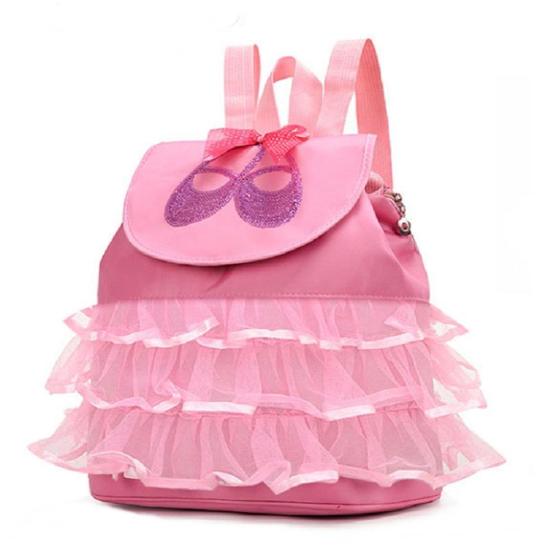 かわいい ピンク リュックサック レース かわいい リュック バッグ 軽量 リュックサック バレエバッグ トウシューズ キラキラ スパンコール リュック 通学 レッスン ピンク ハロウィン クリスマス