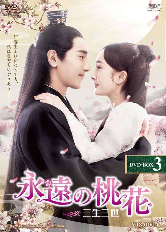 永遠の桃花~三生三世~ DVD-BOX3(9枚組)