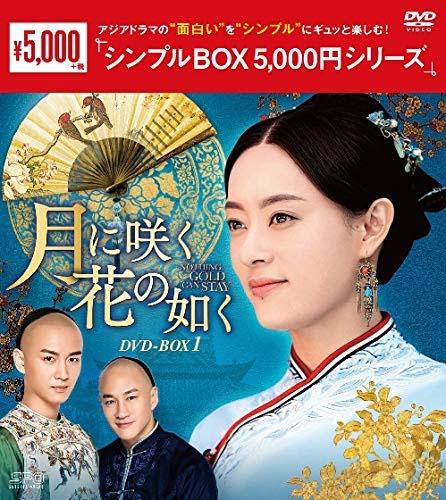 新品 月に咲く花の如く DVD-BOX1 12枚組 25%OFF シンプルBOX 定番から日本未入荷 5 000円シリーズ