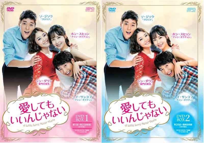 愛してもいいんじゃない DVD-BOX1+2のセット